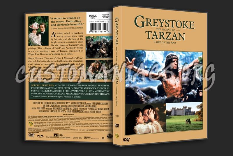 Greystoke dvd cover