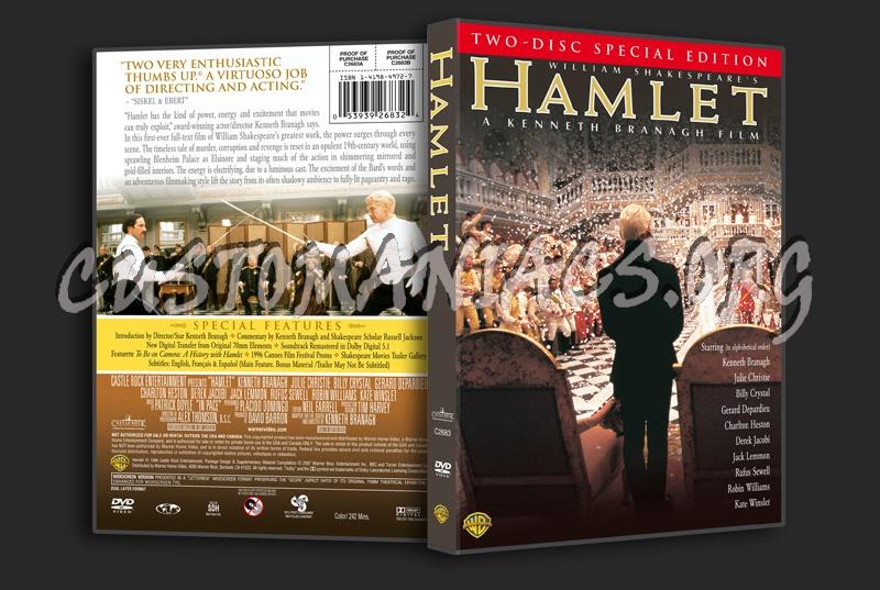 Hamlet (1996) dvd cover