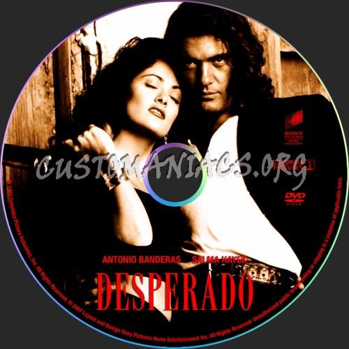 Desperado dvd label