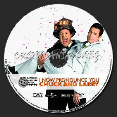 I Now Pronounce You Chuck And Larry Dvd Label Dvd Covers Labels By Customaniacs Id 138798 Free Download Highres Dvd Label