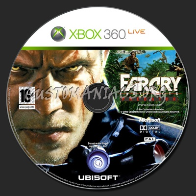 Far Cry Instincts Predator Dvd Label Dvd Covers Labels By Customaniacs Id 138827 Free Download Highres Dvd Label