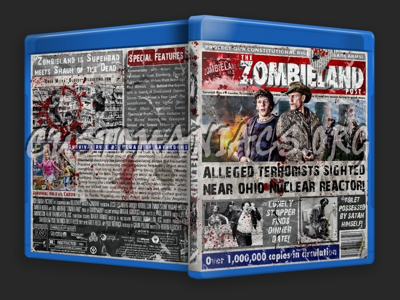 Zombieland blu-ray cover