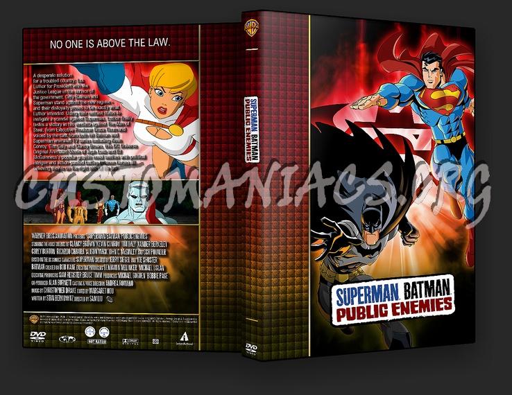 Superman / Batman: Public Enemies - TV Collection dvd cover