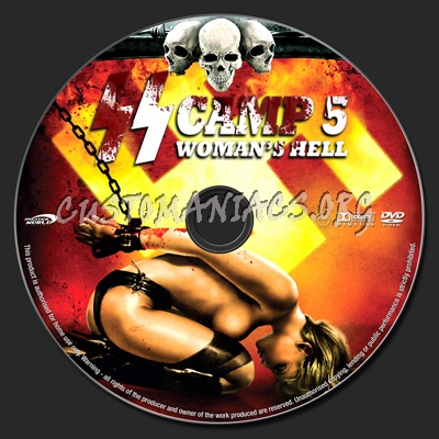 Ss Camp 5 Womens Hell Dvd Label