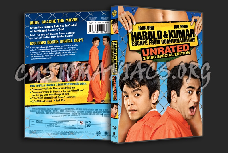 Harold Kumar Escape From Guantanamo Bay Dvd Cover