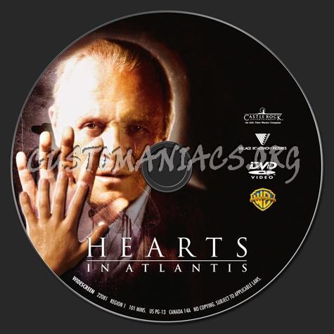 Hearts in Atlantis dvd label
