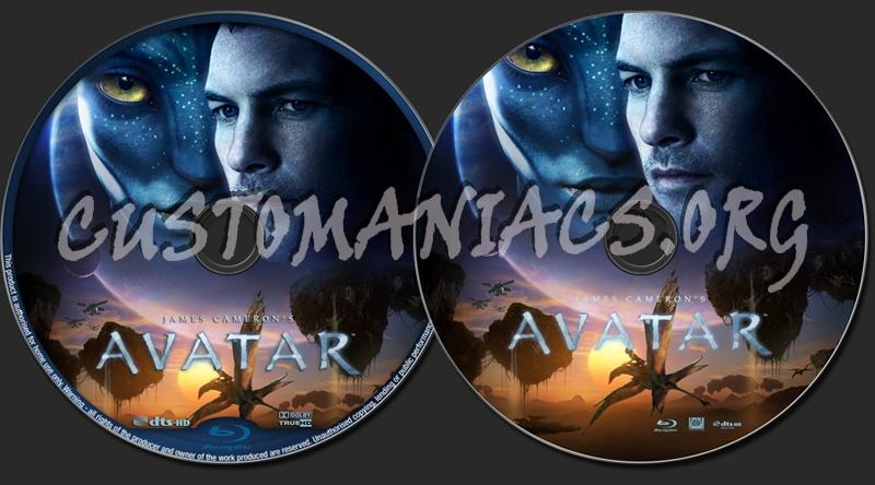 Avatar blu-ray label