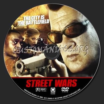 Street Wars dvd label