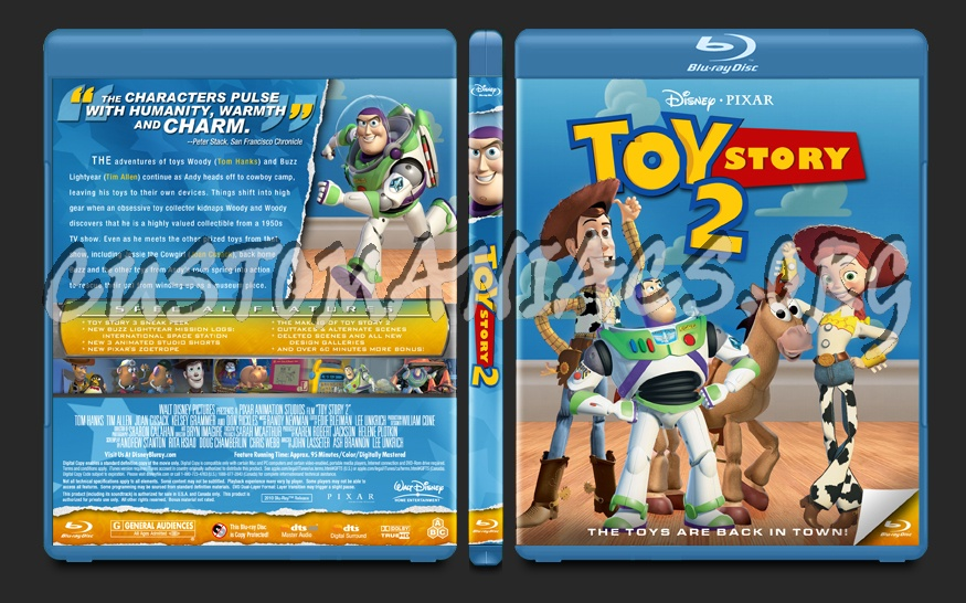 Toy Story 2 blu-ray cover