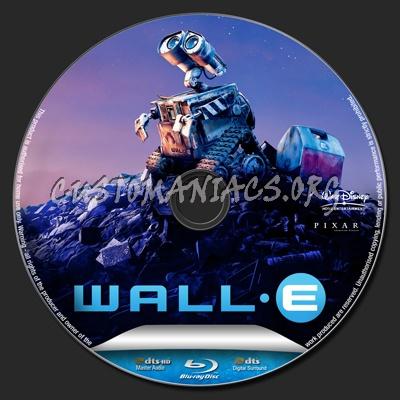 Wall-E blu-ray label