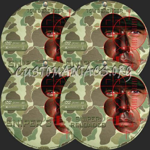 Sniper Quadrilogy dvd label