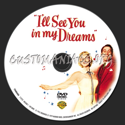 I'll See You in my Dreams dvd label
