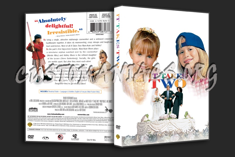 It Takes Two dvd cover