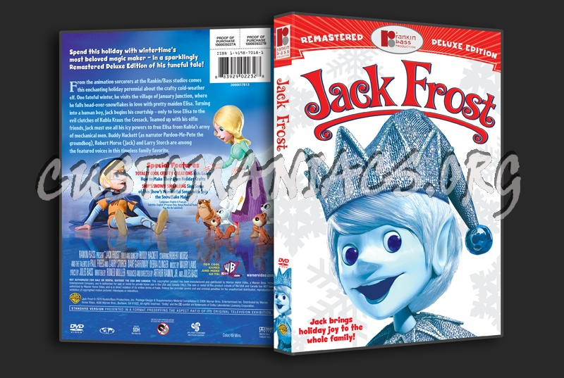 Jack Frost dvd cover
