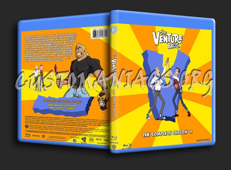 Venture Bros. Season 4 blu-ray cover