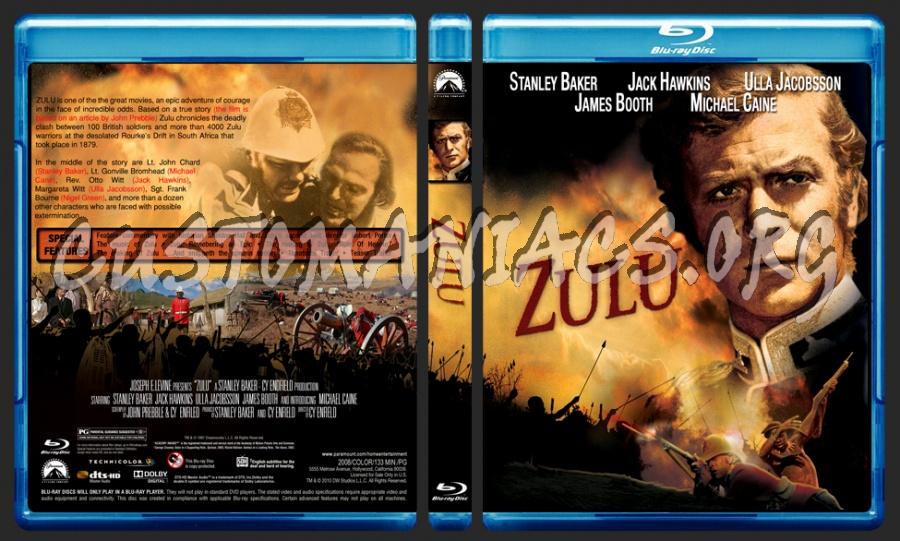 Zulu blu-ray cover