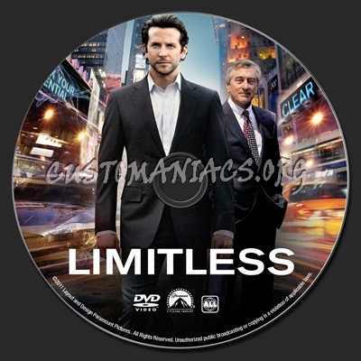 Limitless dvd label