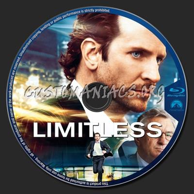 Limitless blu-ray label