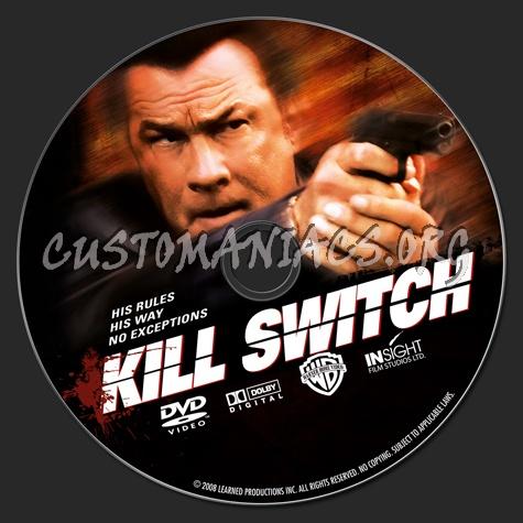 Kill Switch dvd label