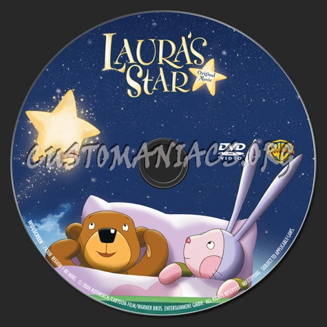 Laura's Star dvd label