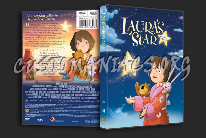 Laura's Star dvd cover