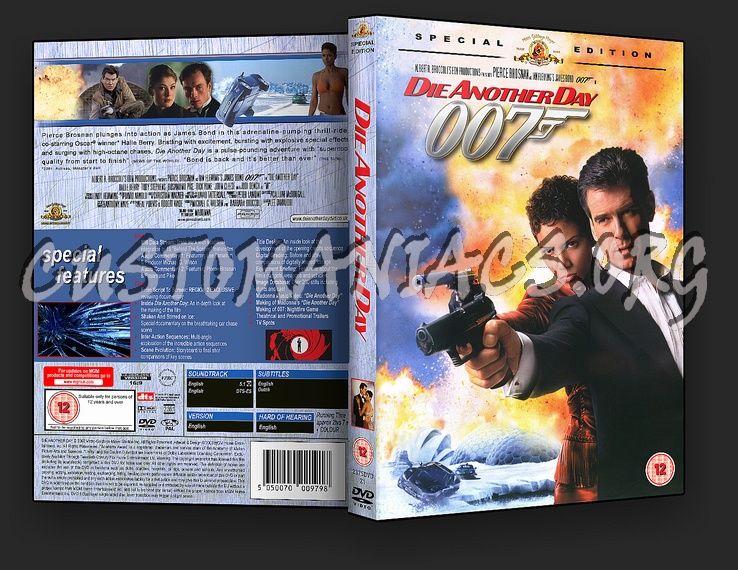Die Another Day (James Bond) dvd cover