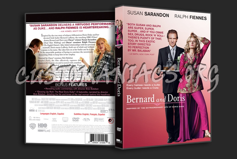 Bernard and doris dvd label dvd covers & labels by customaniacs.