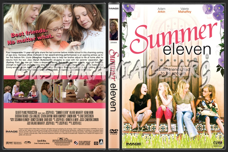Summer Eleven dvd cover
