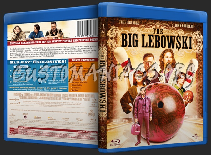 The Big Lebowski blu-ray cover