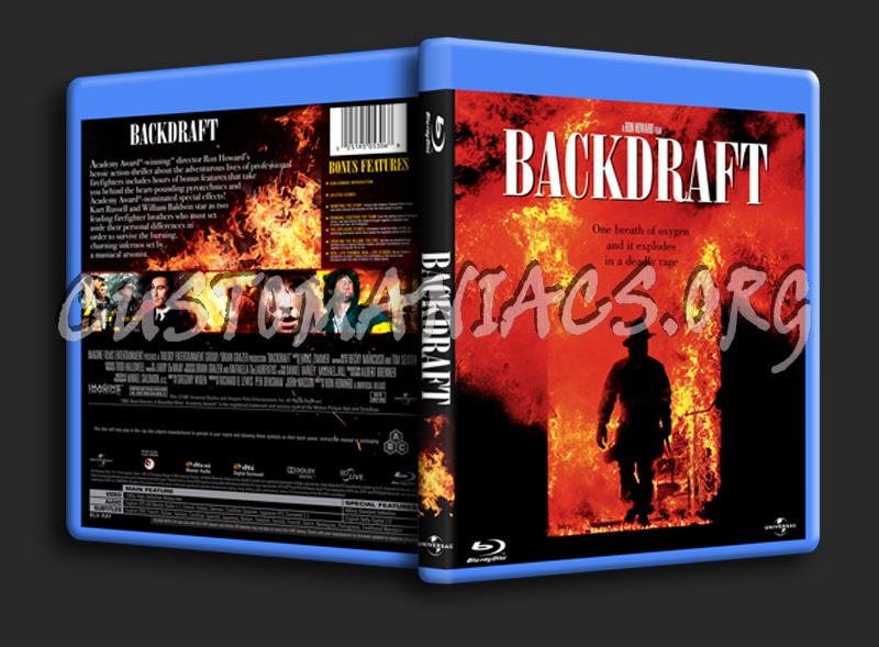 Backdraft blu-ray cover