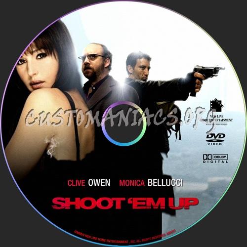 Shoot 'Em Up dvd label