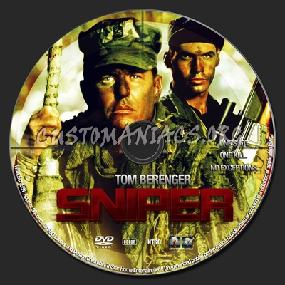 Sniper dvd label
