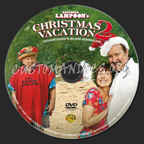 Christmas Vacation 2.National Lampoon S Christmas Vacation 2 Dvd Label Dvd