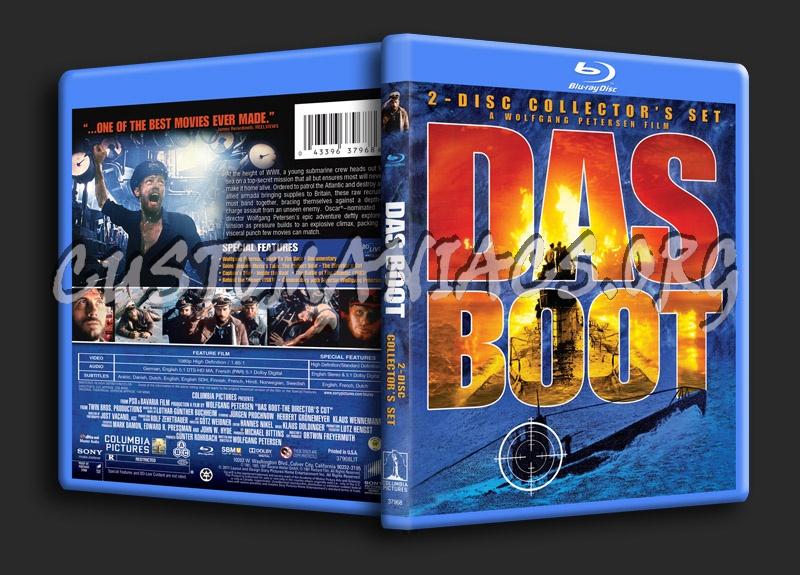 Das Boot blu-ray cover