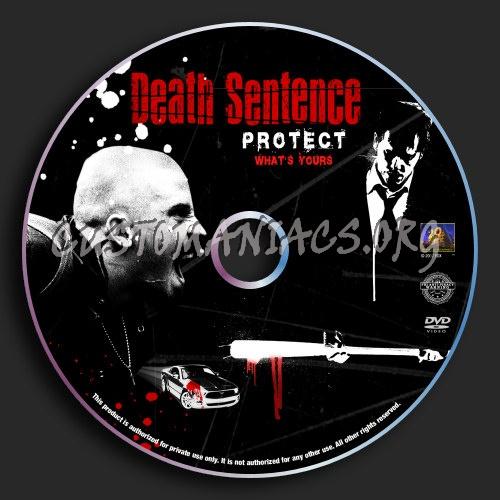 Death Sentence dvd label