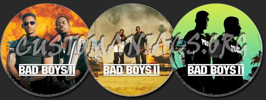 Bad Boys 2 blu-ray label