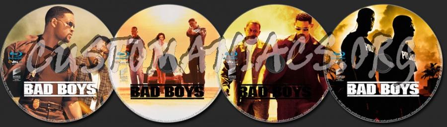 Bad Boys blu-ray label