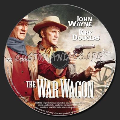 The War Wagon dvd label