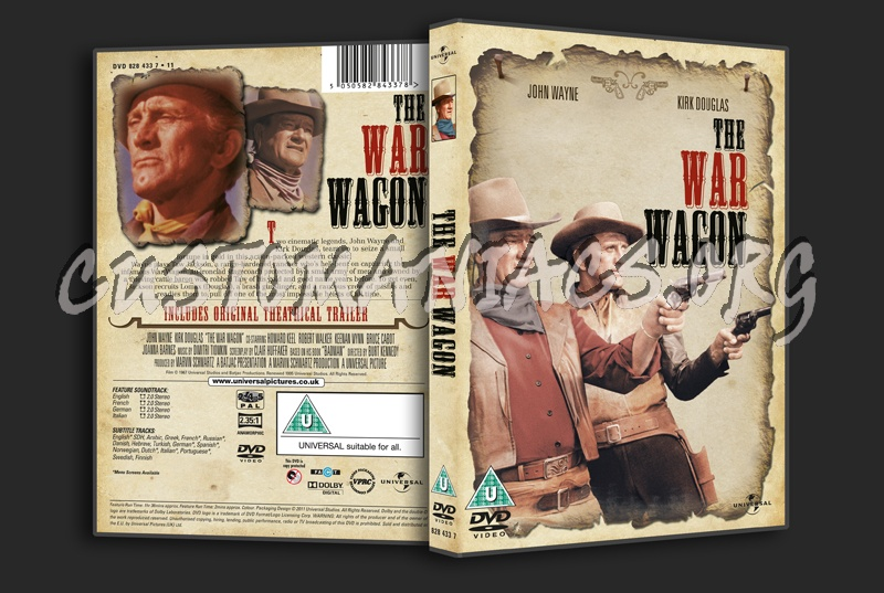 The War Wagon dvd cover
