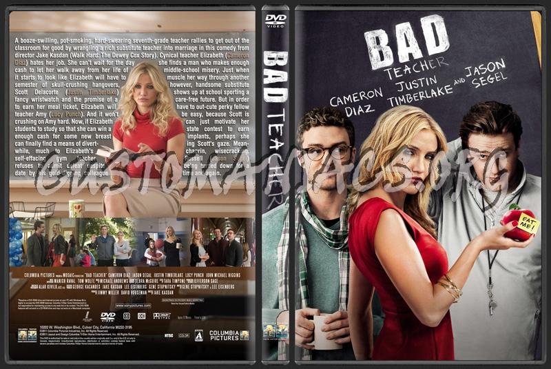 Bad Teacher dvd cover