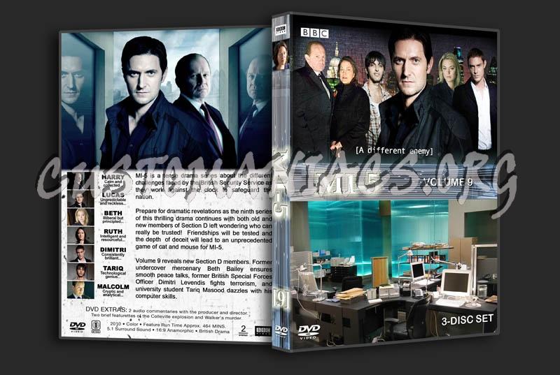 MI-5: Volume 9 dvd cover