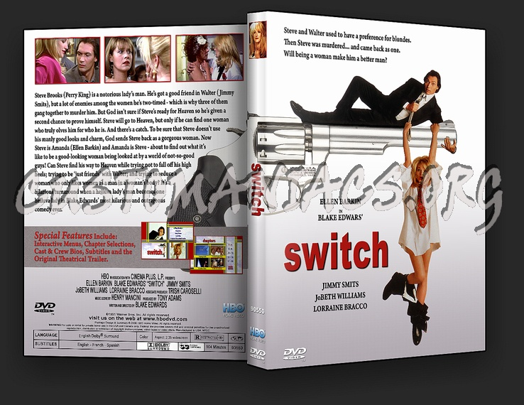 Switch dvd cover