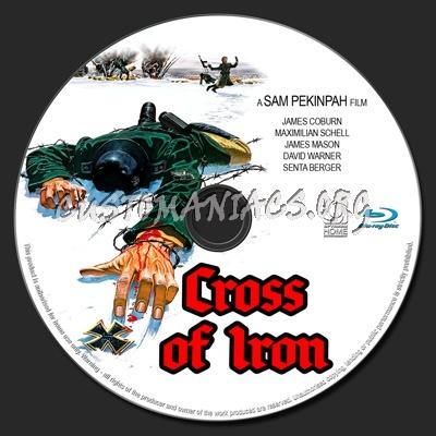 Cross of Iron blu-ray label