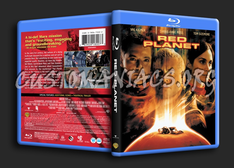 Red Planet blu-ray cover