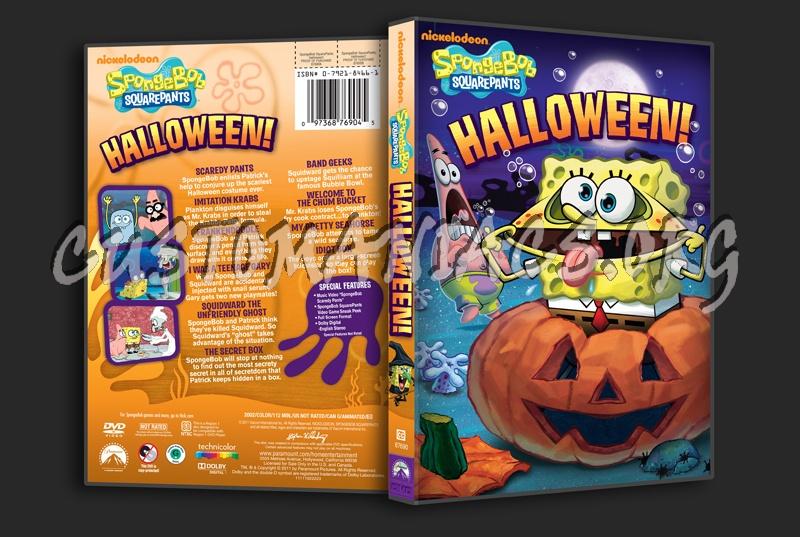 spongebob squarepants halloween dvd cover dvd covers
