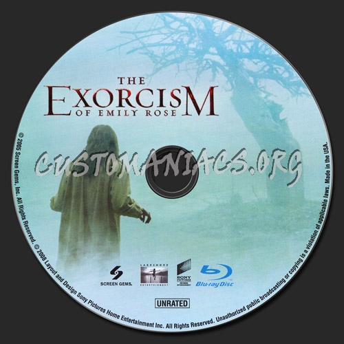 The Exorcism of Emily Rose blu-ray label