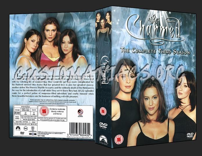Charmed - Season 3 dvd cover