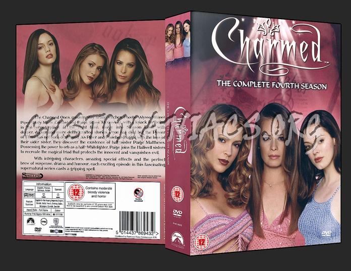 Charmed - Season 4 dvd cover