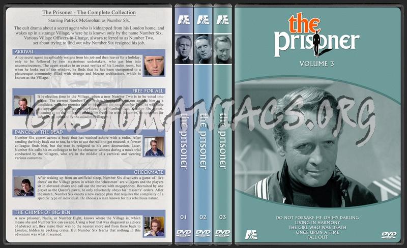 The Prisoner (1960s) dvd cover
