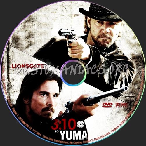 3:10 To Yuma dvd label